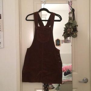 ASOS Corduroy Overall Dress
